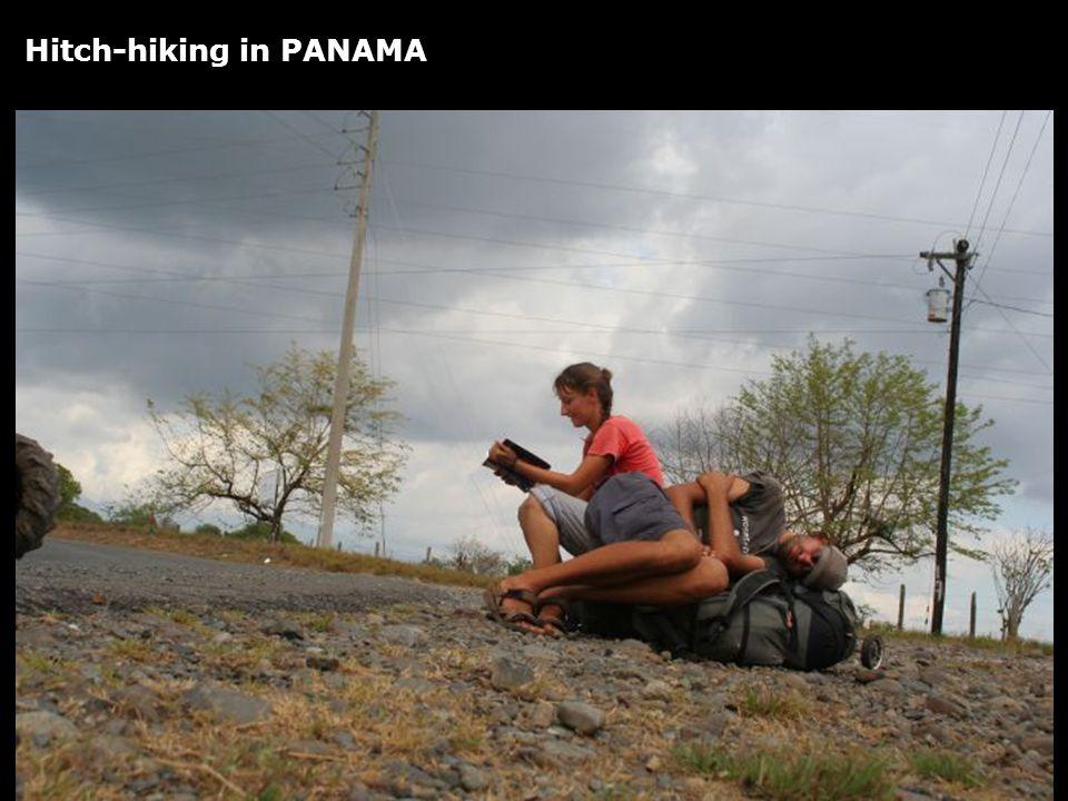 Hitch-hiking in PANAMA
