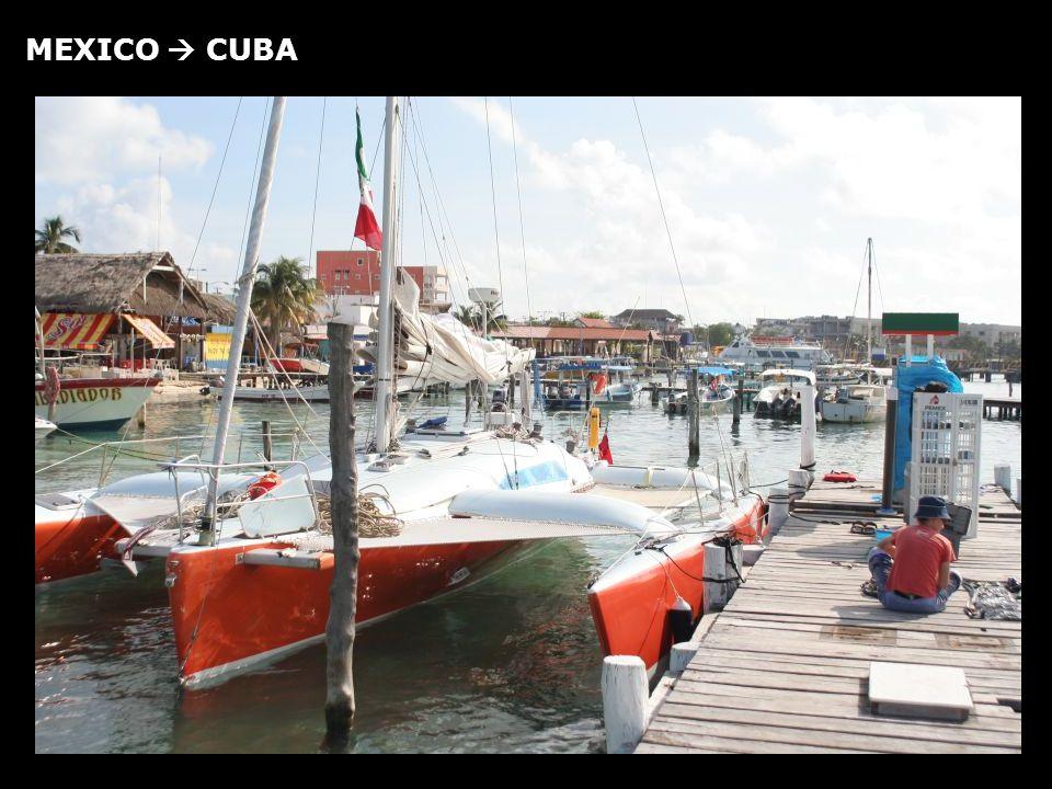 MEXICO CUBA