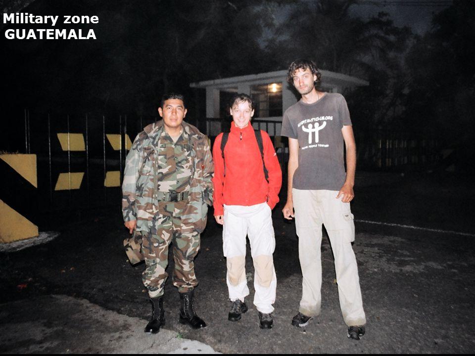 Military zone GUATEMALA