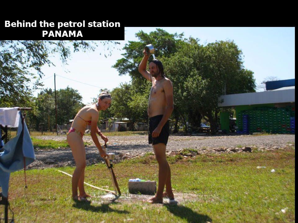 Behind the petrol station PANAMA