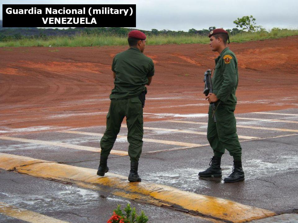 Guardia Nacional (military) VENEZUELA