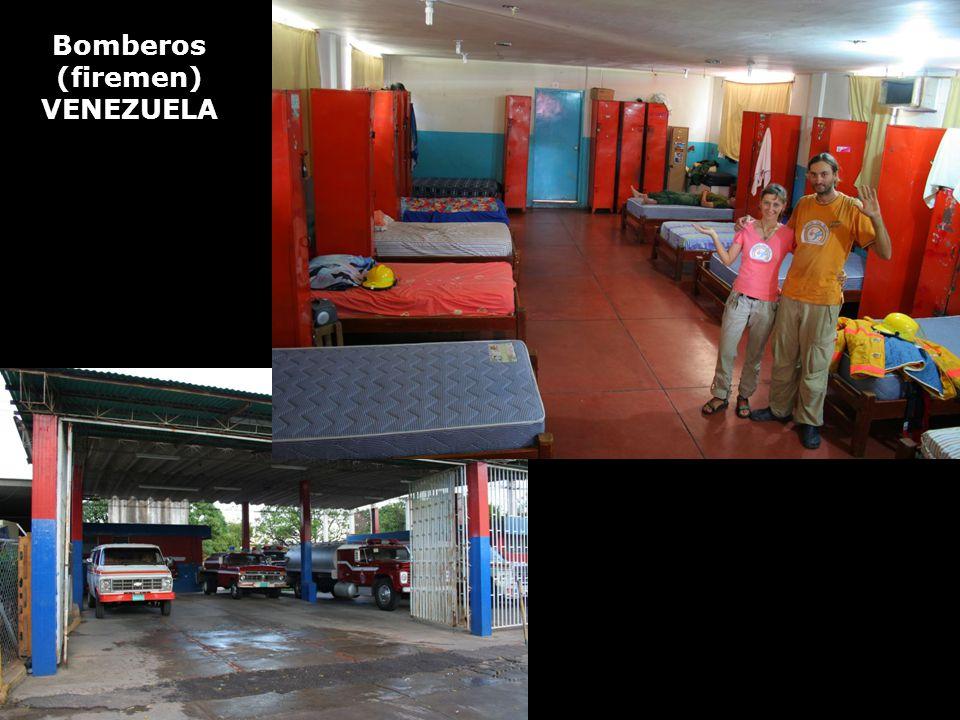 Bomberos (firemen) VENEZUELA