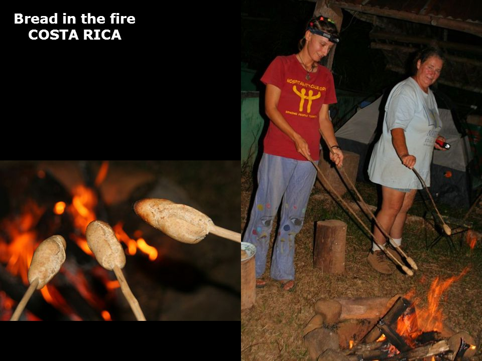 Bread in the fire COSTA RICA