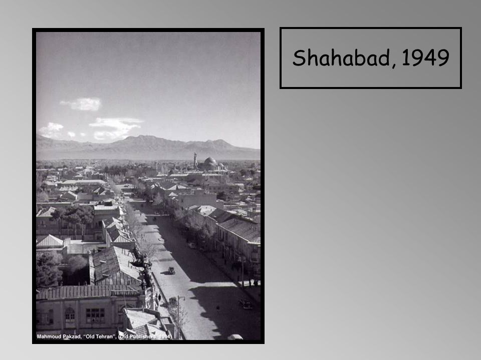 Shahabad, 1949