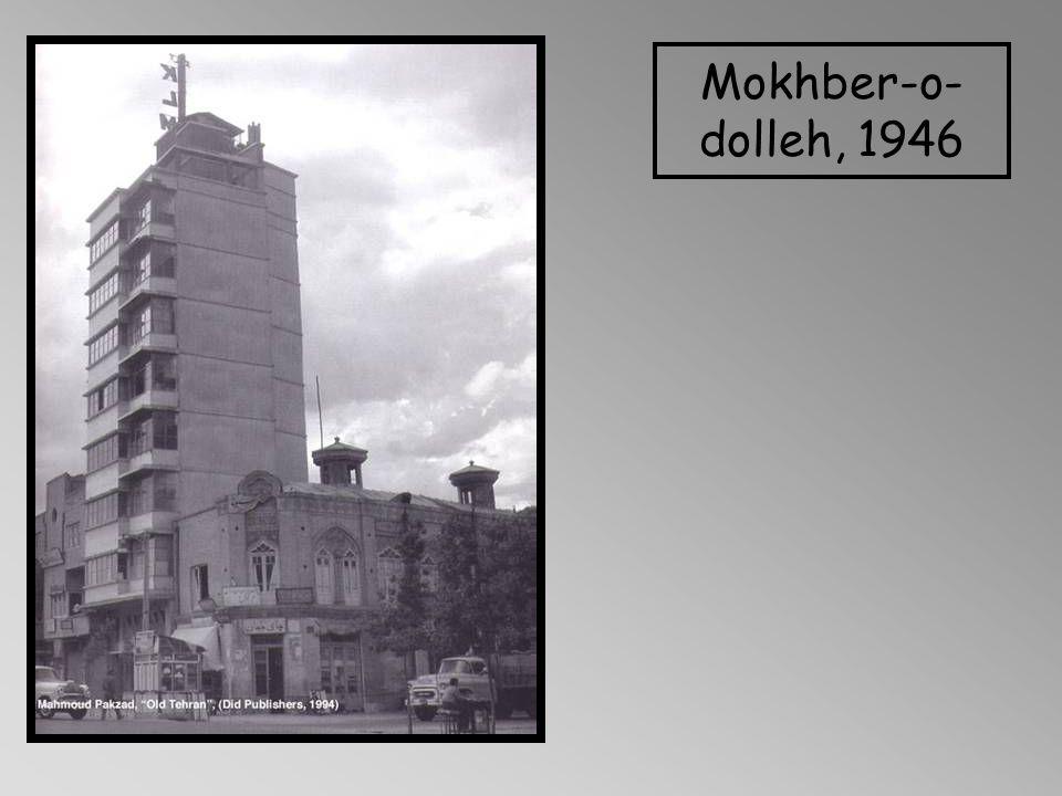 Mokhber-o- dolleh, 1946