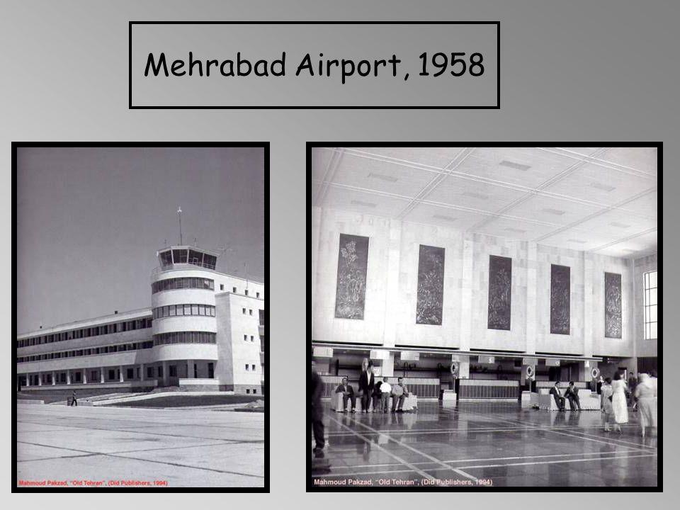 Mehrabad Airport, 1958