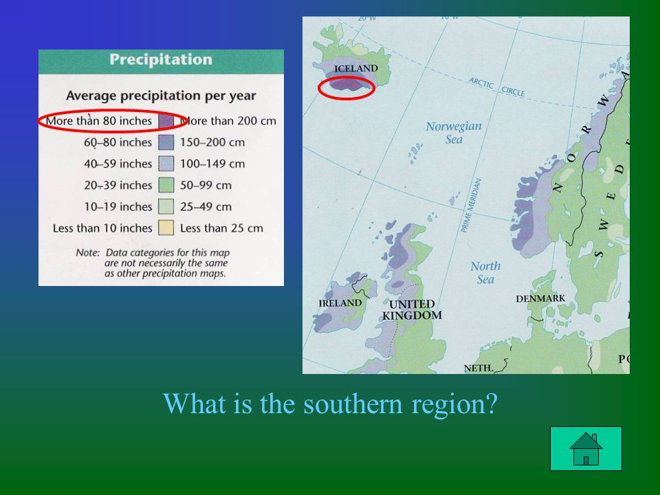 What is the southern region?