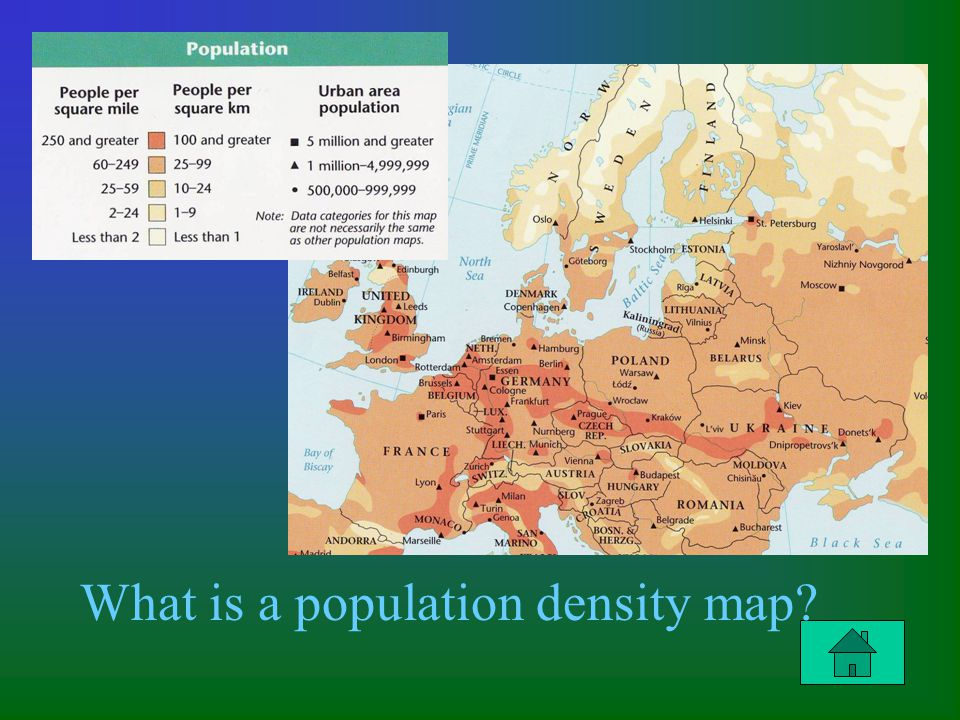 Column 2 Question $200 What is a population density map?
