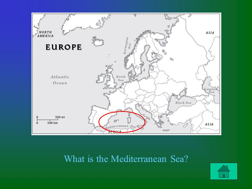 Column 2 Question $300 What is the Mediterranean Sea?