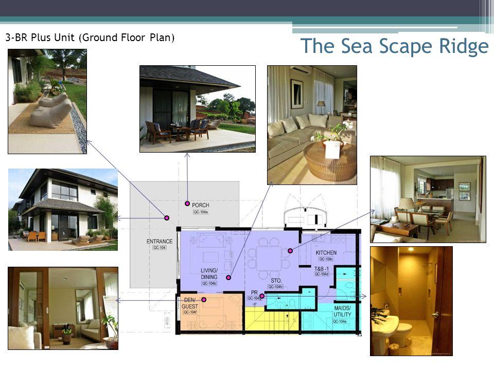 The Sea Scape Ridge 3-BR Plus Unit (Ground Floor Plan)