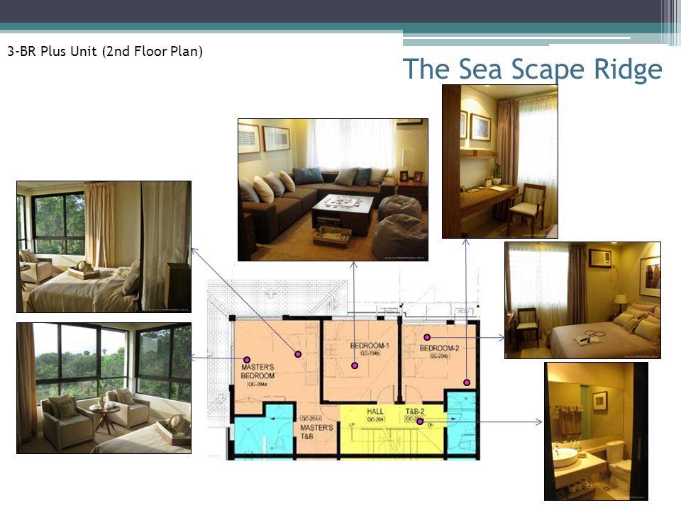 The Sea Scape Ridge 3-BR Plus Unit (2nd Floor Plan)