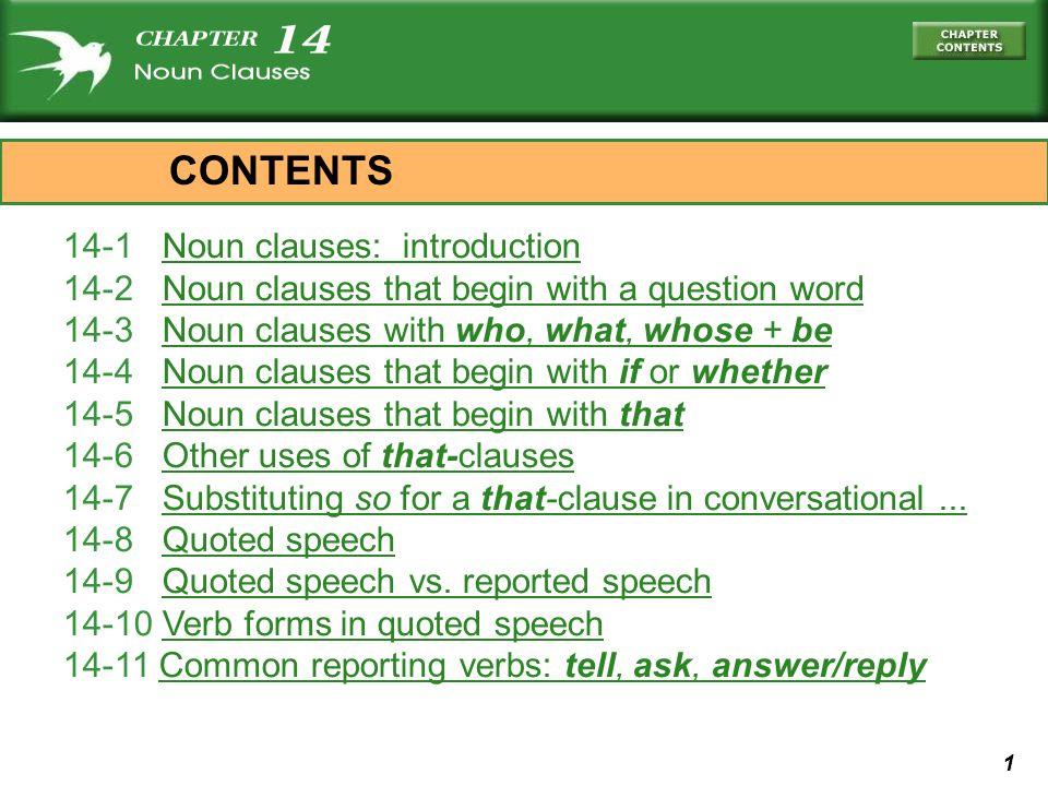 12 who built the bridge noun clausequestion .OR 14-2 LETS PRACTICE I know who built the bridge.