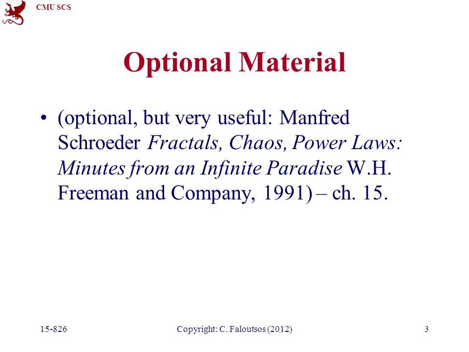 CMU SCS 15-826Copyright: C.Faloutsos (2012)44 Random walks J.
