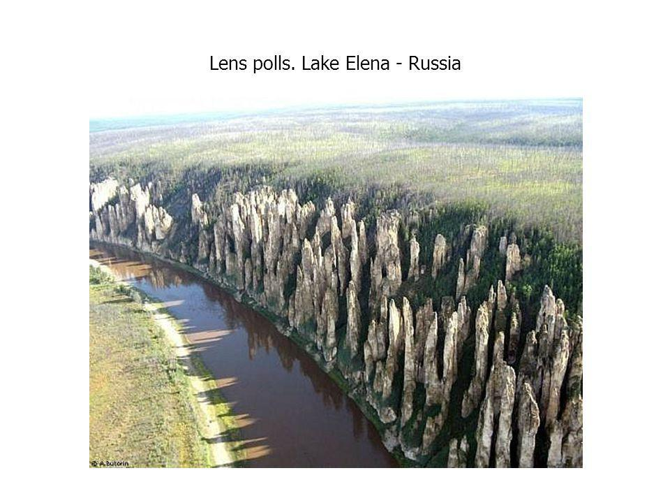Lens polls. Lake Elena - Russia