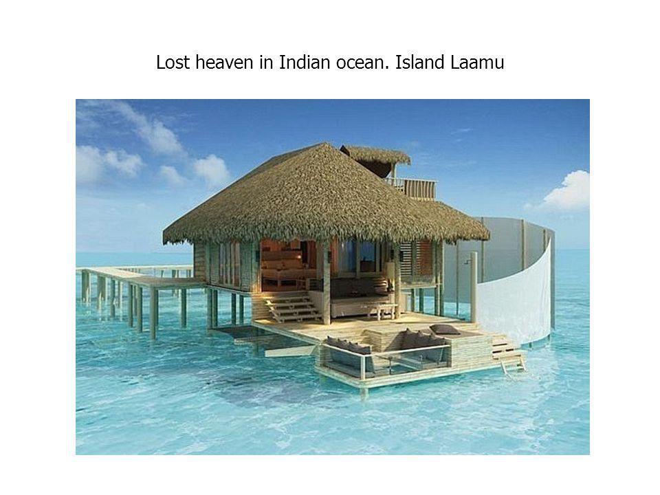 Lost heaven in Indian ocean. Island Laamu