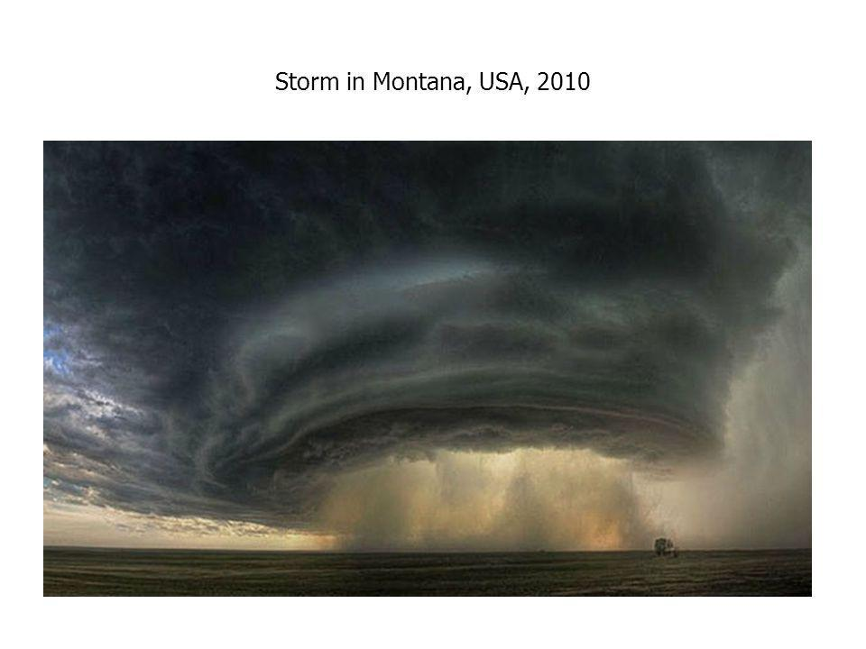 Storm in Montana, USA, 2010
