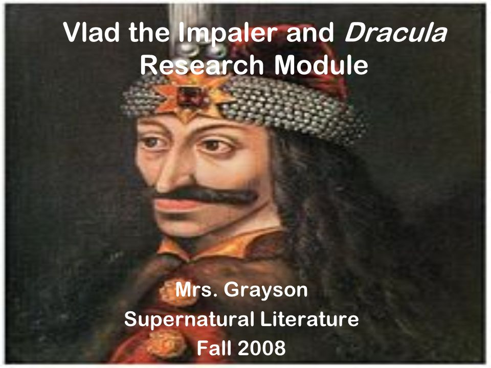 Essential Question Did you know that Bram Stoker based his character of Dracula on a real historical figure?