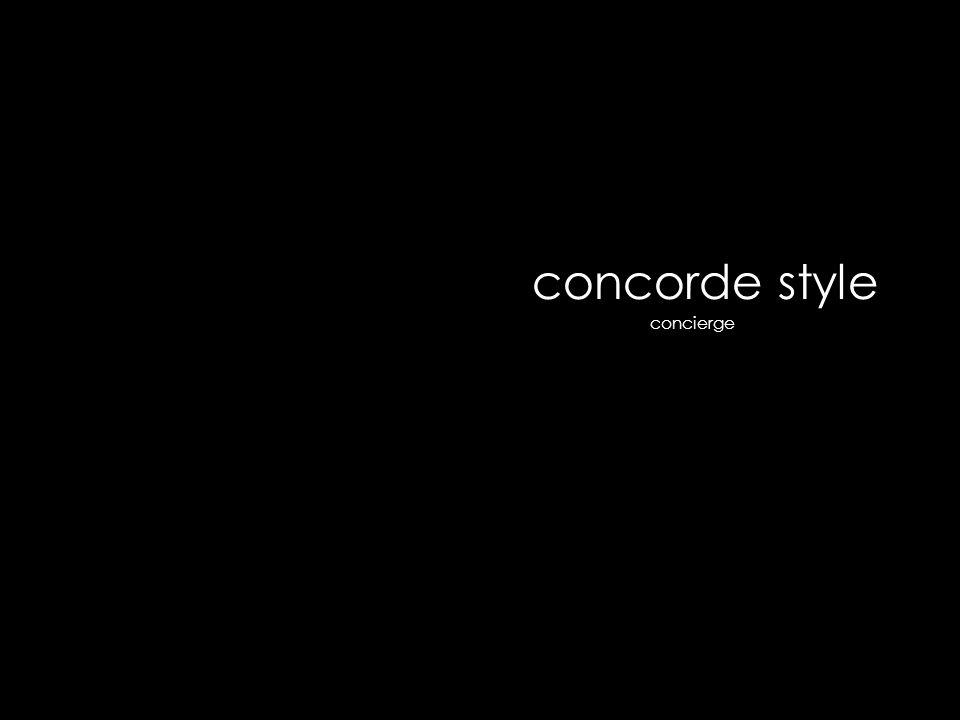 concorde style concierge