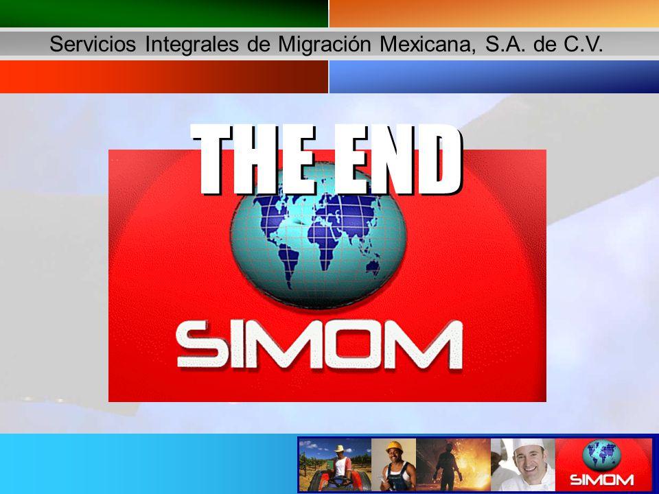 Servicios Integrales de Migración Mexicana, S.A. de C.V. THE END