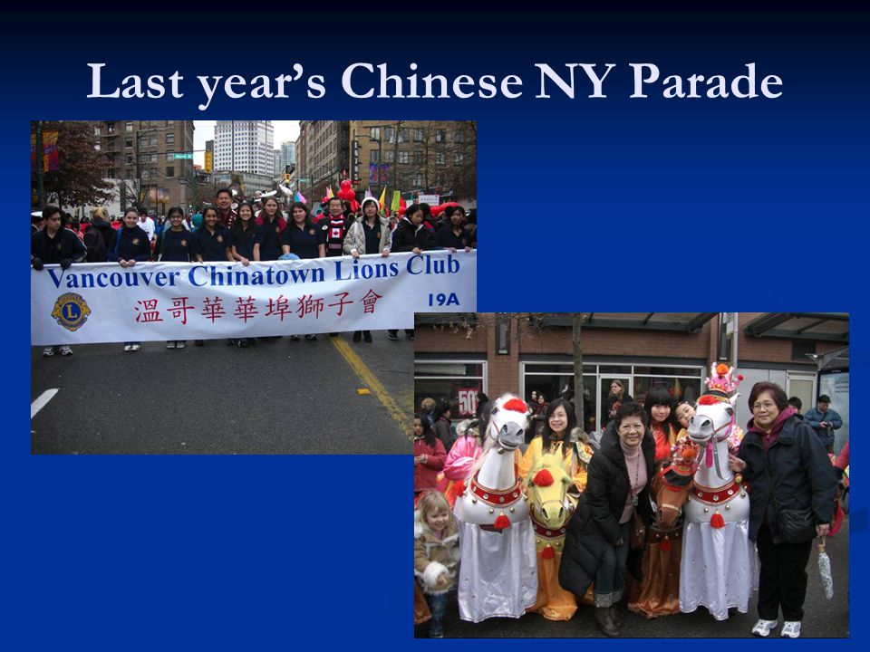 Last years Chinese NY Parade