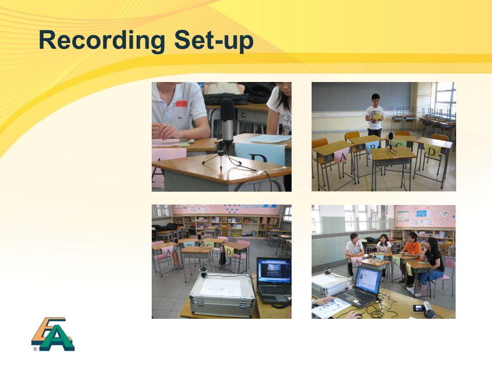 Recording Set-up