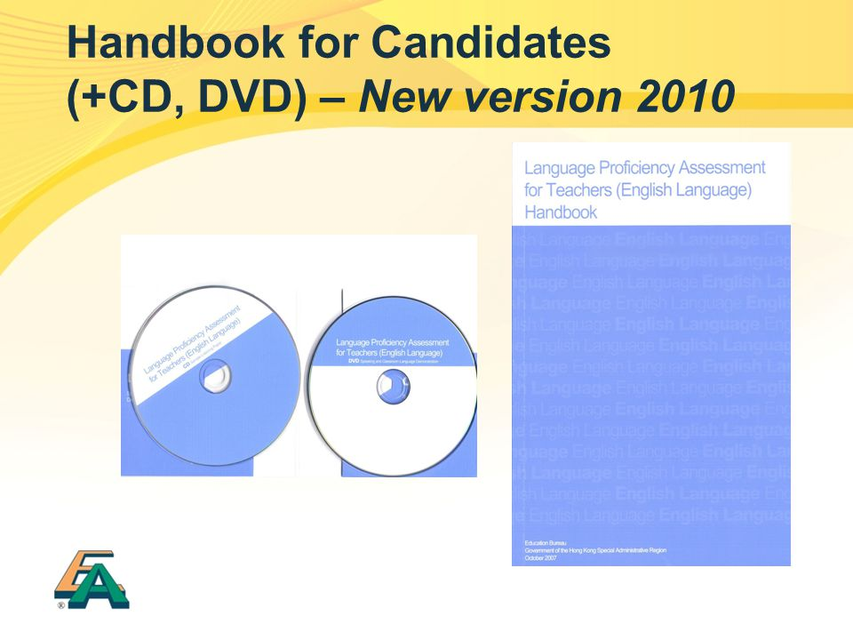 Handbook for Candidates (+CD, DVD) – New version 2010