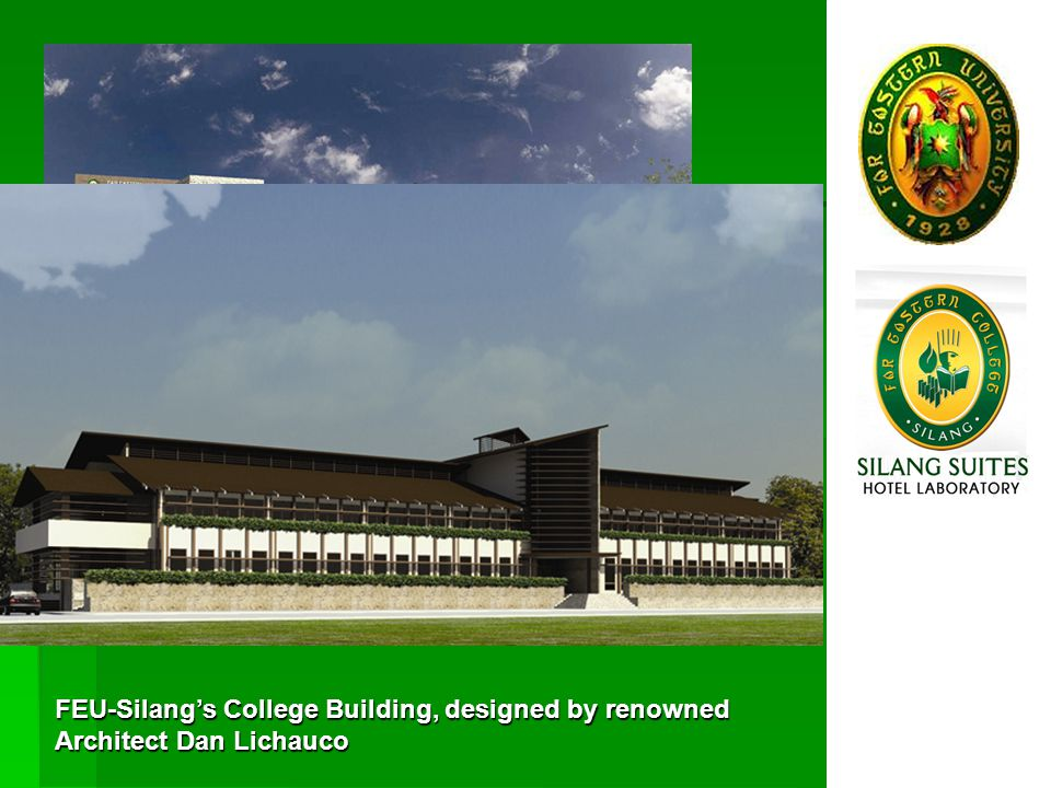 FEU-Silang, the newest member of the Far Eastern University group, is a testament to the universitys commitment to provide both foreign and local stud