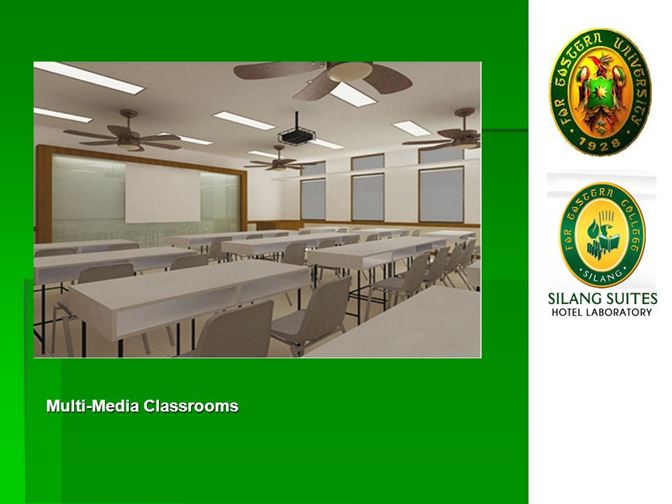 FEU-Silangs Nicanor Reyes Hall (Basic Education building) named after the FEU Founder, designed by renowned Architect Dan Lichauco FEU-Silangs College