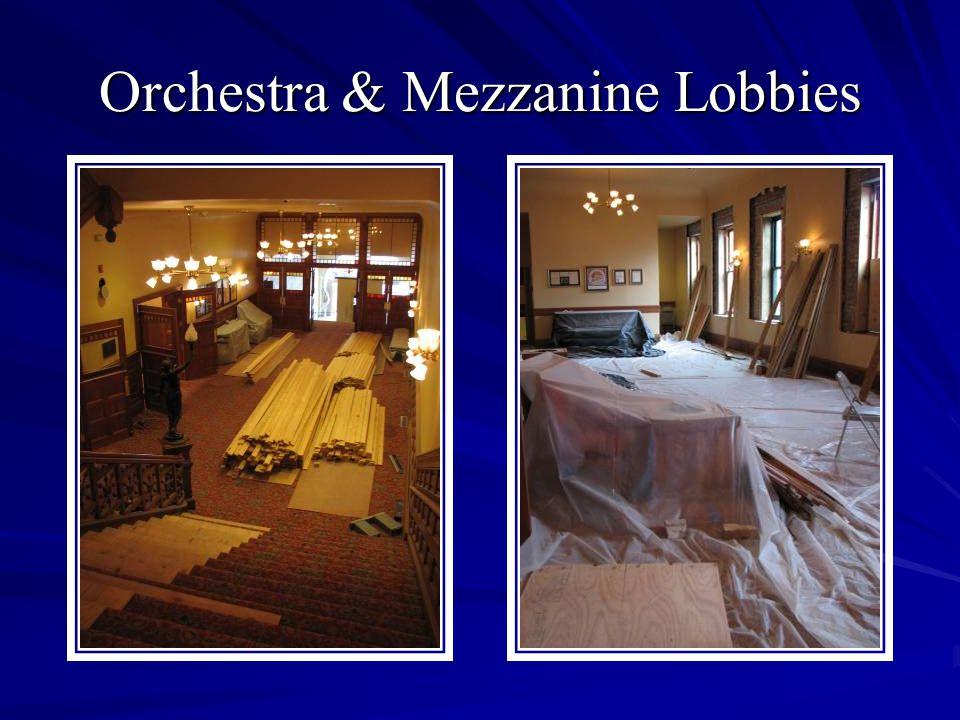 Orchestra & Mezzanine Lobbies