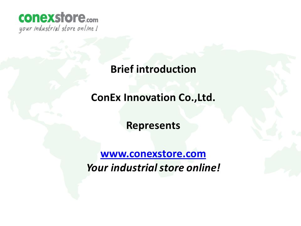 Brief introduction ConEx Innovation Co.,Ltd.