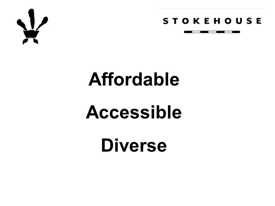 Affordable Accessible Diverse