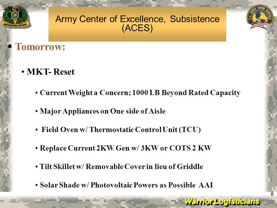 Warrior Logisticians 9 92G Skill Degradation Study