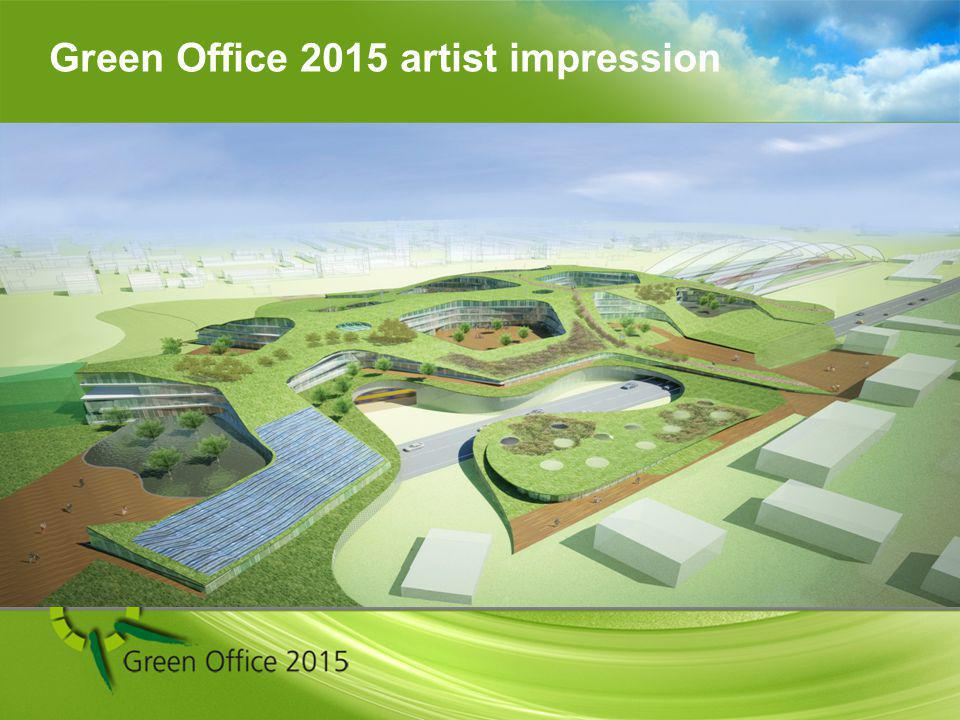 Energy demand building 65000m2 2700 MWh Sustainable energy within Green Office 2015