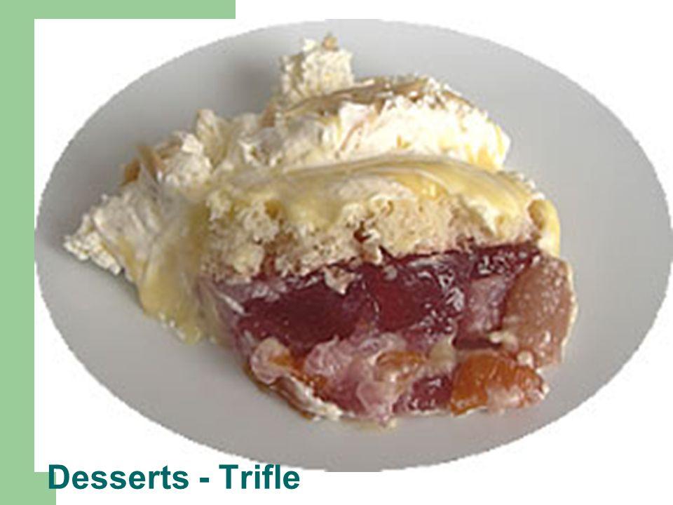 Desserts - Trifle