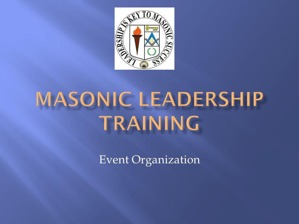 Masonic Leadership Training Manual Lodge Secretary Administrative Guide (GL215) Worshipful Masters Program Notebook (GL218)