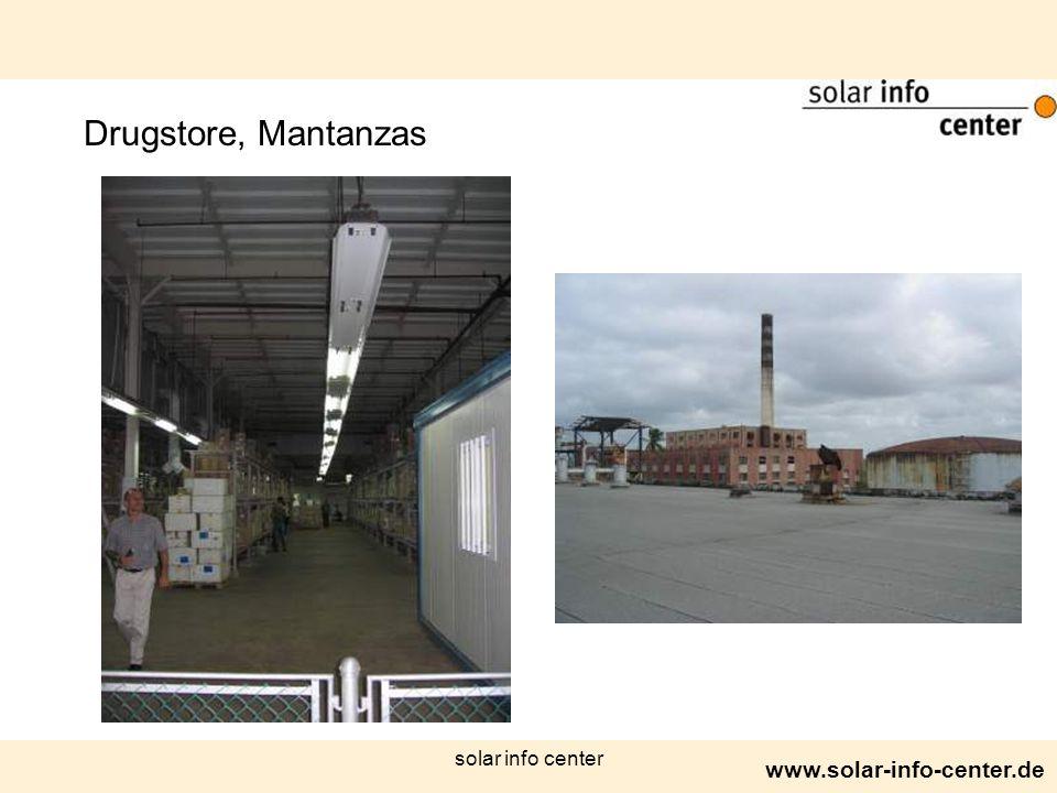 www.solar-info-center.de solar info center Drugstore, Mantanzas