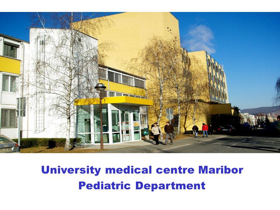 University medical centre Maribor Pediatric Department