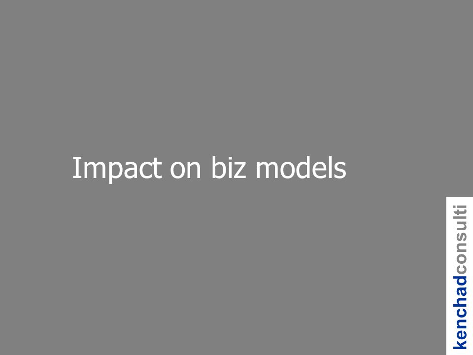 kenchadconsulti ng Impact on biz models