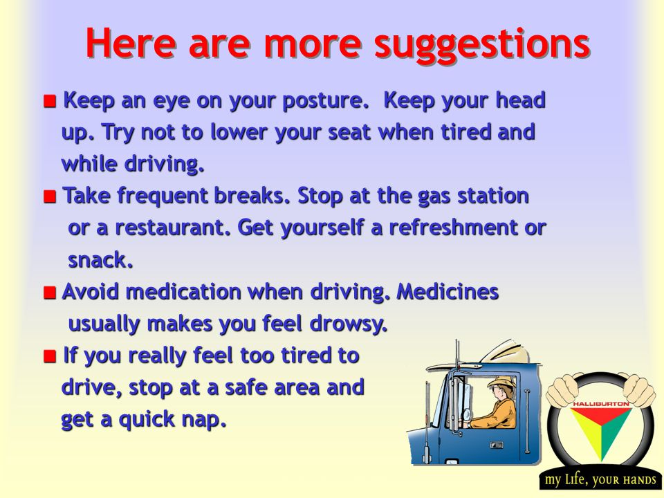 Transportation Tuesday Here are more suggestions Keep an eye on your posture.