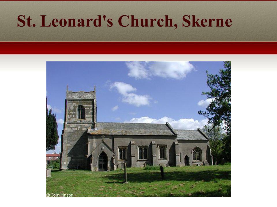 St. Leonard s Church, Skerne