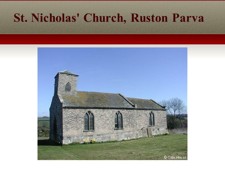 St. Nicholas Church, Ruston Parva