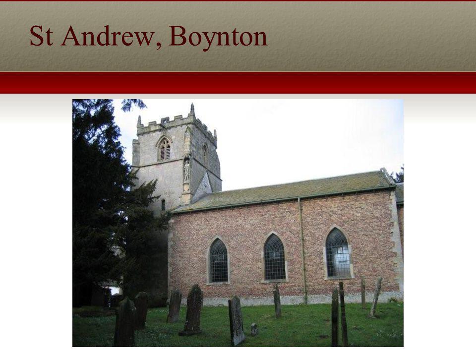 St Andrew, Boynton