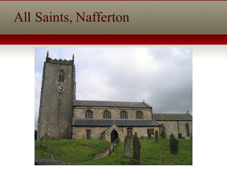 All Saints, Nafferton