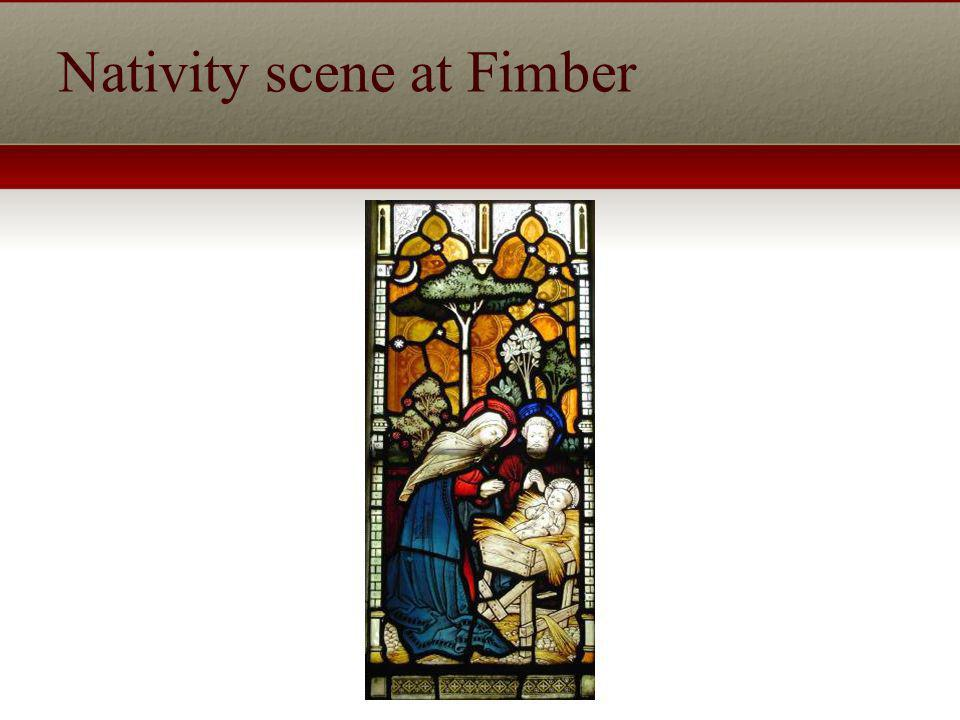 Nativity scene at Fimber
