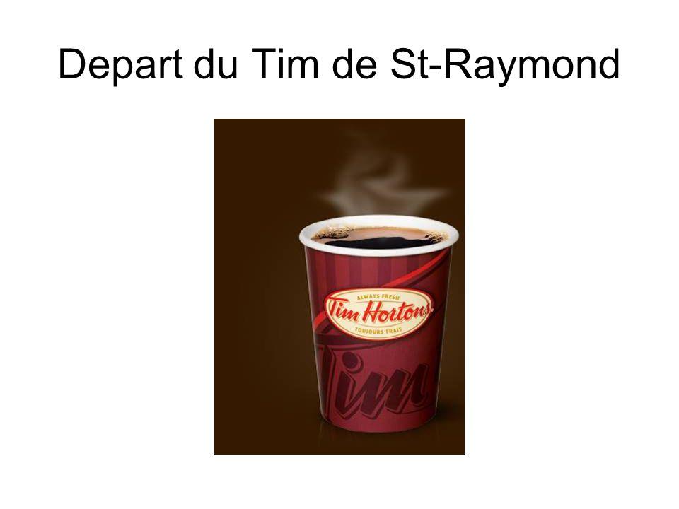 Depart du Tim de St-Raymond