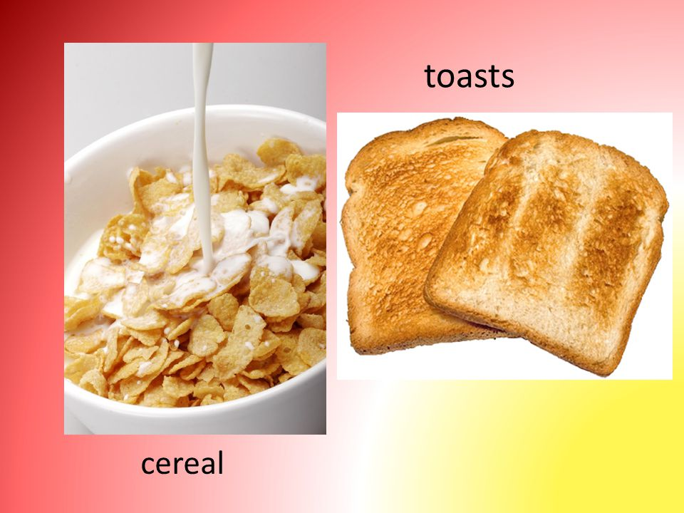 cereal toasts