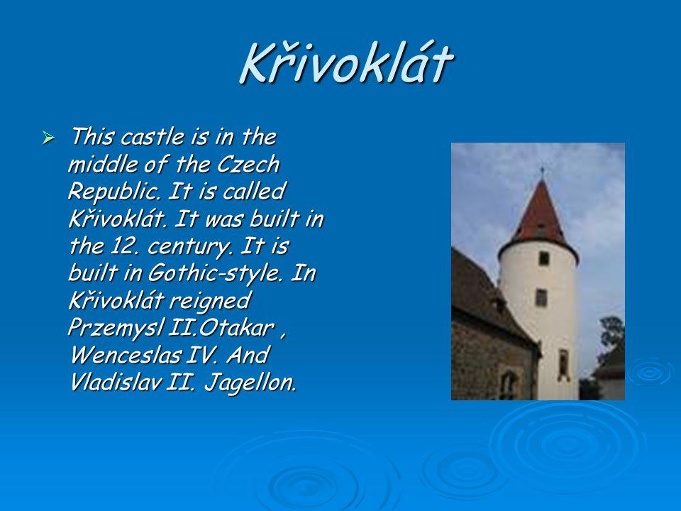 Karlštejn Karlštejn was built in the year 1348. Charles IV.