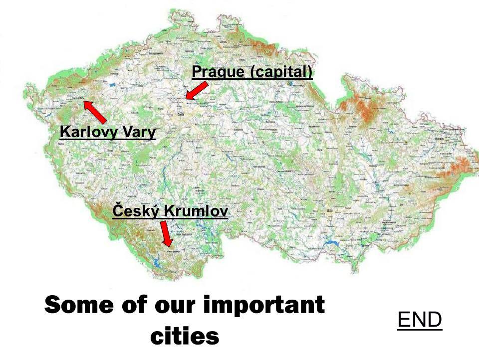 Czech Republic Important cities By Filip F. and Lukáš J.