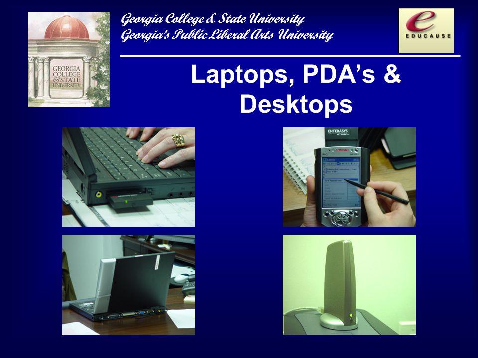 Georgia College & State University Georgias Public Liberal Arts University Laptops, PDAs & Desktops