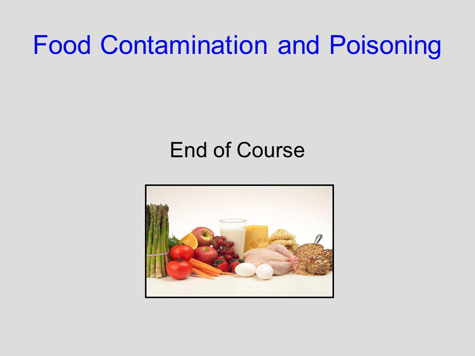 Food Contamination and Poisoning End of Course
